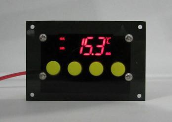 RA084 Терморегулятор с дисплеем и лицевой панелью XH-W1312