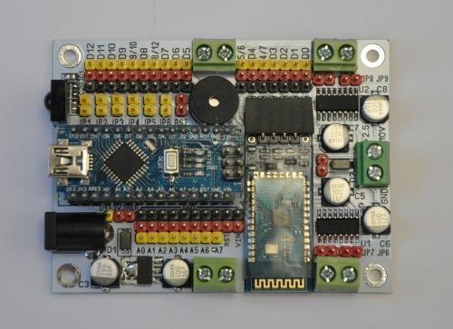 RobotBin: контроллер роботов Vostok-1