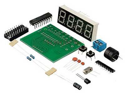 RC094 Конструктор для сборки микропроцессорных часов