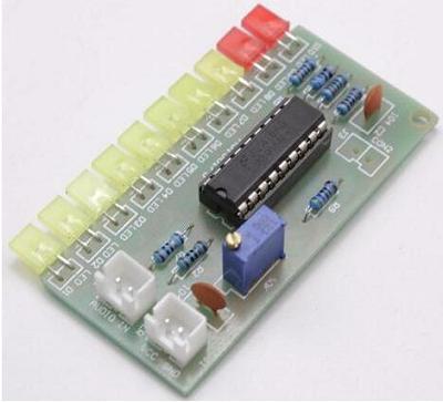 Радиоконструктор RS044. Индикатор уровня входного сигнала на микросхеме LM3915
