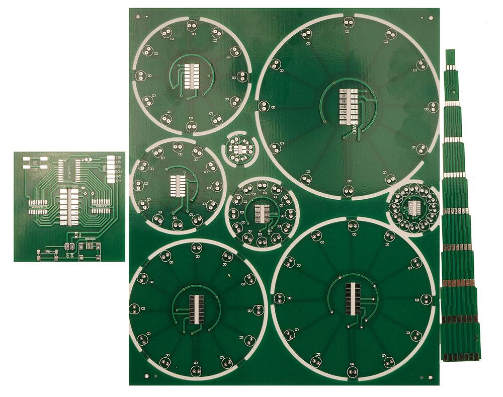 Радиоконструктор RL023. Новогодняя ёлочка светодиодная NY19