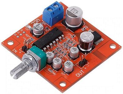 Модуль RS025-Lite. Ревербератор на PT2399 (одноканальный)
