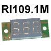 Модуль RI109.1M. Вольтметр DC 6...30 В (Красный дисплей 9 мм)