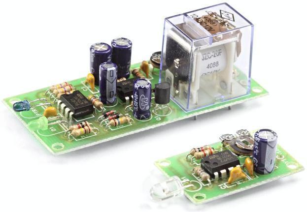 Радиоконструктор RA202. Инфракрасный барьер