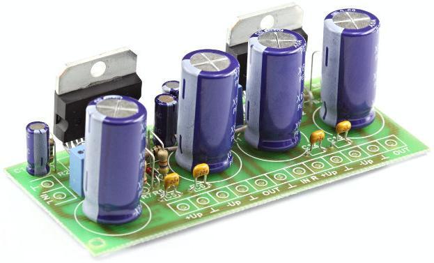 Радиоконструктор RS205. УНЧ на TDA7294 1х170 Вт / 2х100 Вт