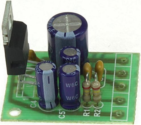 Модуль RS211M. Одноканальный УНЧ 20 Вт на микросхеме TDA7240A