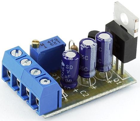 Модуль RP212M. Регулируемый стабилизатор напряжения 3...27 В, 10 Ампер