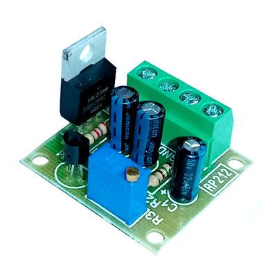 Радиоконструктор RP212. Регулируемый стабилизатор напряжения 3...27 В, 10 А