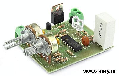 Радиоконструктор RP118. Лабораторный блок питания
