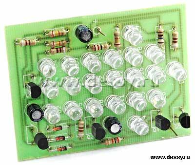 Радиоконструктор RL120. Светодиодная стрелка