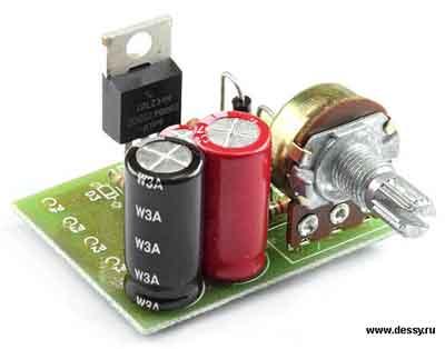 Радиоконструктор RP124. Регулятор мощности с ШИМ. СНЯТО С ПРОИЗВОДСТВА.