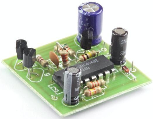 Радиоконструктор RS125. Звуковая сирена 0,5 Вт