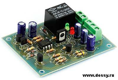 Радиоконструктор RS217. Блок защиты АС (моно)