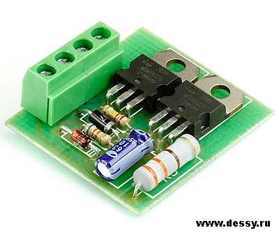Радиоконструктор RL134. Устройство плавного включения ламп накаливания