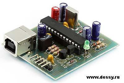 Радиоконструктор RC221. GTP-USB-Lite программатор PIC-контроллеров