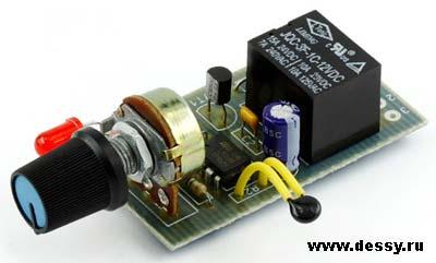 Радиоконструктор RA224. Терморегулятор (охлаждение)