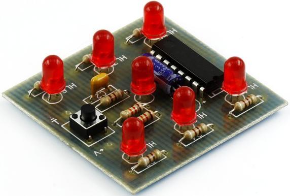 Модуль RL225M. Электронный кубик