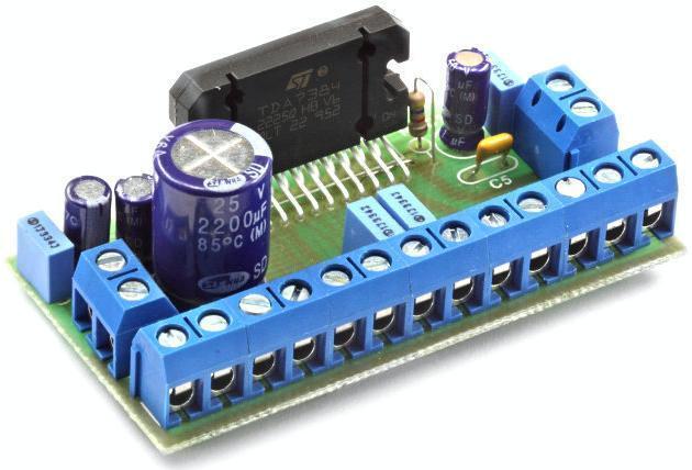 Радиоконструктор RS215. Четырёхканальный УНЧ 4х45 Вт