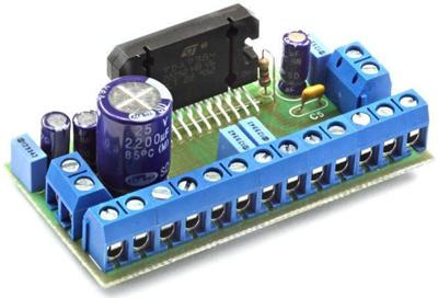 Радиоконструктор RS215C. Четырёхканальный УНЧ 4х25 Вт