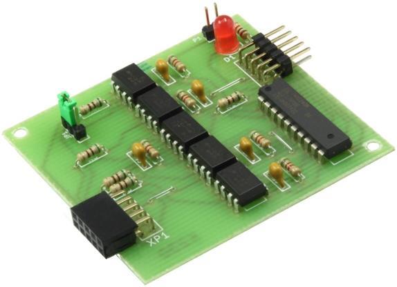 Модуль RC230M. Блок гальванической развязки для программатора AVR ISP