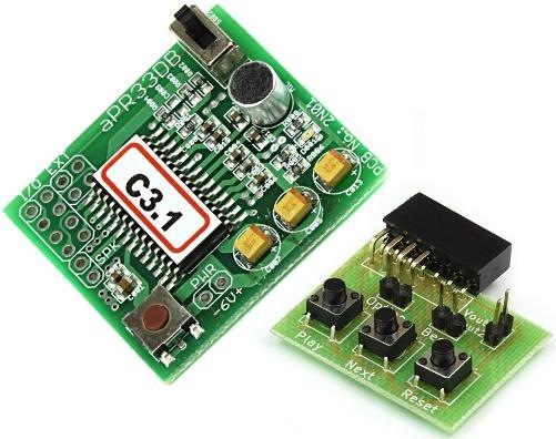 Модуль RS280CM. Устройство звукозаписи aPR33DB_C3.1 (APlus)