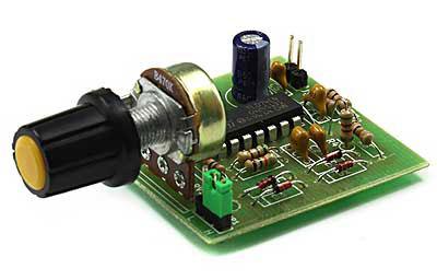 Радиоконструктор RI260. Функциональный генератор