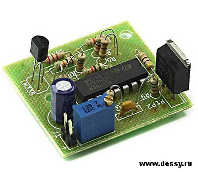 Модуль RA261. Автоматический регулятор скорости вентиляторов ПК
