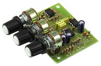 Радиоконструктор RS262. Стерео темброблок