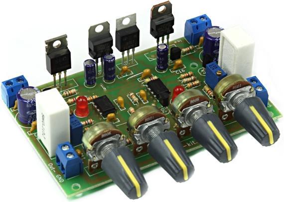 Модуль RP234M. Лабораторный двухполярный блок питания