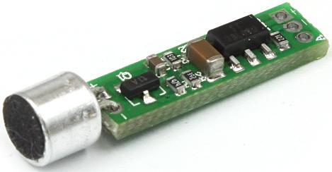 Модуль RS219M. Микрофон с предусилителем