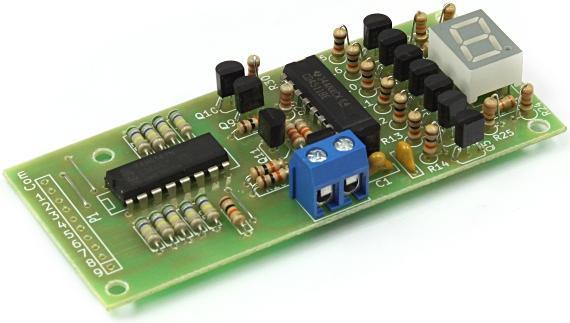 Радиоконструктор RA254. Цифровой индикатор уровня жидкости