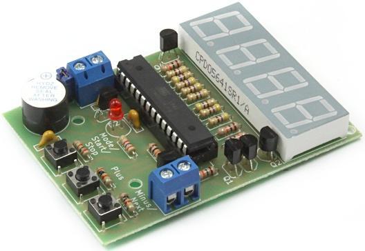 Радиоконструктор RA285. Цифровой таймер-счётчик