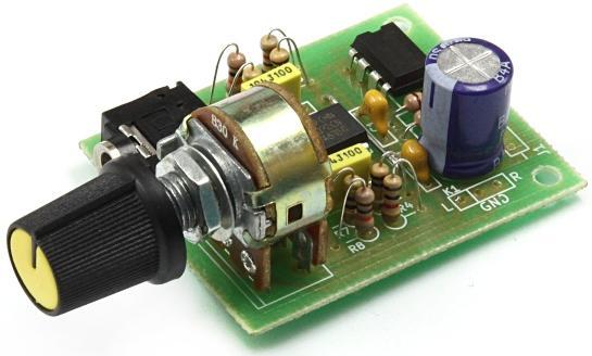 Радиоконструктор RS275. Усилитель для наушников C-MOY Pocket Amp