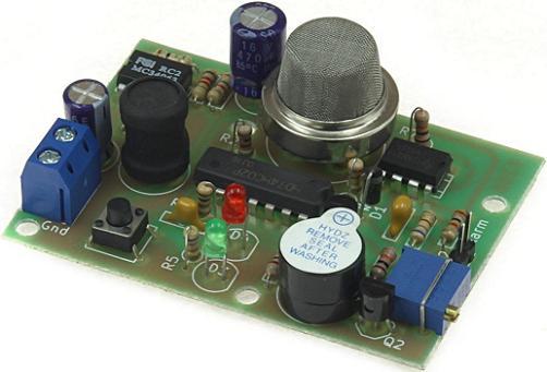 Радиоконструктор RA286. Датчик газа