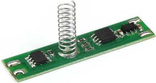 Модуль RA296M. Сенсорный выключатель с диммером (адаптирован под алюминиевый профиль с экраном для светодиодных лент)