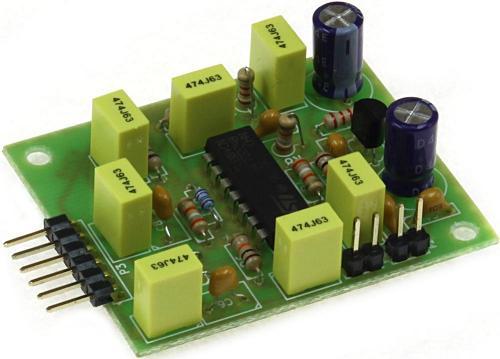 Радиоконструктор RS248. Активный 3-х полосный фильтр