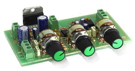 Радиоконструктор RS160. Стереофонический УНЧ с темброблоком 2х30 Вт на микросхеме TDA7377