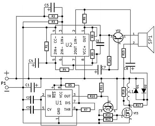Радиоконструктор RI158. Импульсный металлоискатель