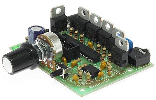 Радиоконструктор RL165. Цветомузыка RGB.