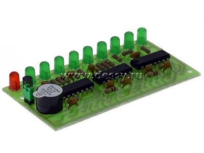Радиоконструктор RL254.1 Светодиодный индикатор уровня жидкости