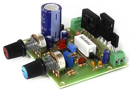 Конструктор RP178. Лабораторный блок питания 12…24 В ; 0.01...3 A