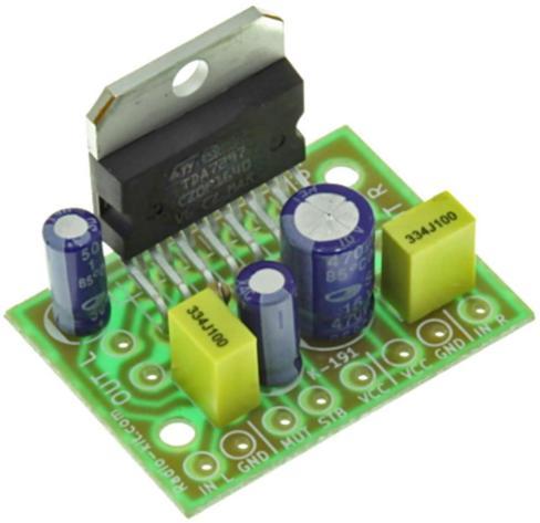 Радиоконструктор RS191. Стерео УНЧ на базе TDA7297 (2 х 15 Вт)