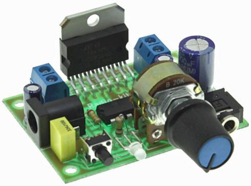 Радиоконструктор RS192. Стерео УНЧ на базе TDA7297 (2 х 15 Вт)