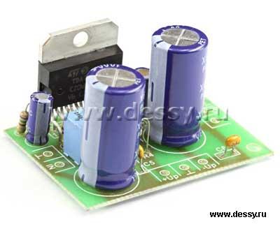 Радиоконструктор RS207.1. Одноканальный УНЧ 140 Вт на TDA7293