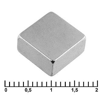 Неодимовый магнит B 10x10x5 N35