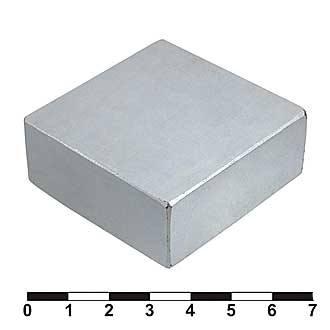 Неодимовый магнит B 50x50x20 N35