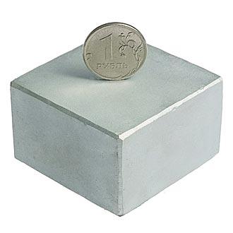 Неодимовый магнит B 50x50x30 N35