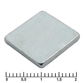 Неодимовый магнит B 12x12x5 N35