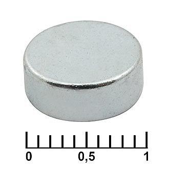 Неодимовый магнит C 10x4 N35