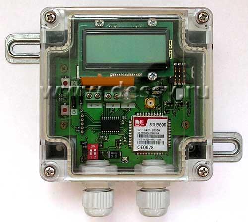 Модуль RA001. GSM-транслятор  «Коралл-10»  показаний счётчиков воды